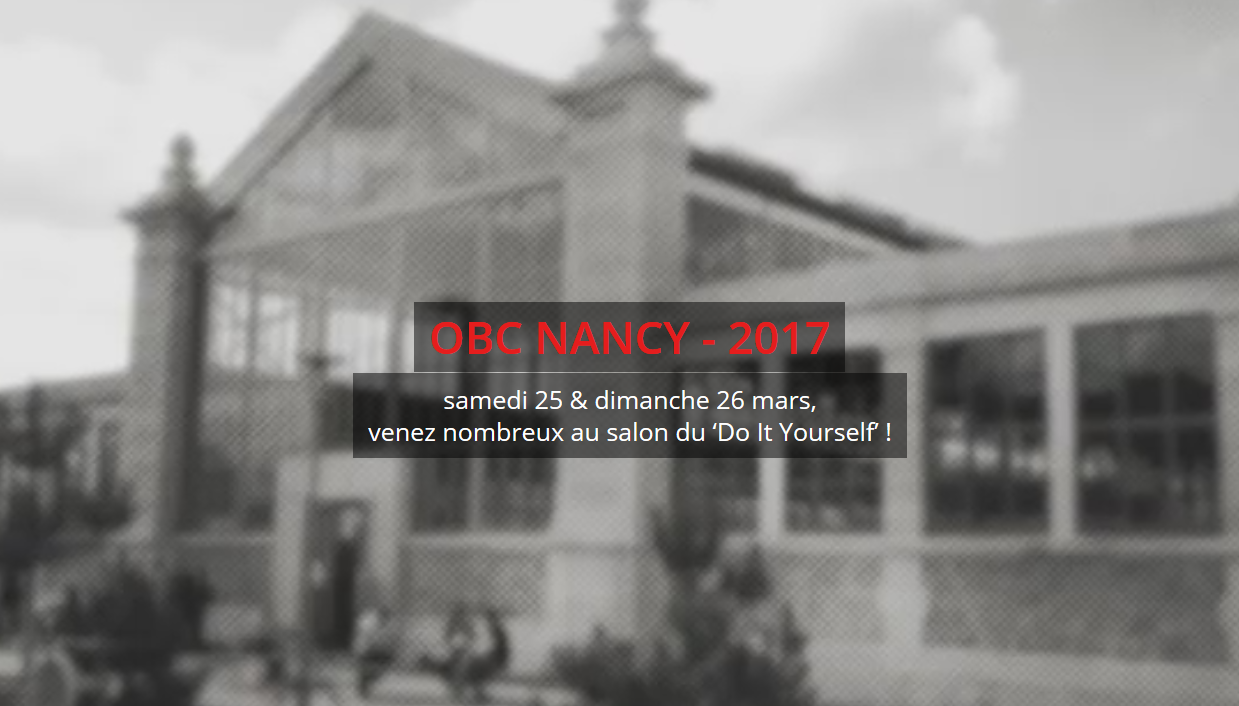 Open Bidouille Camp #Nancy 2017